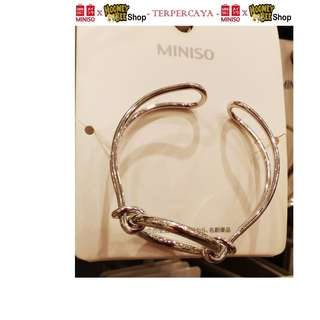 Japan Quality - Gelang Circle Copper Gold Silver Miniso Bracelet
