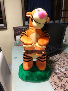 Disney authentic Tigger Display Toy