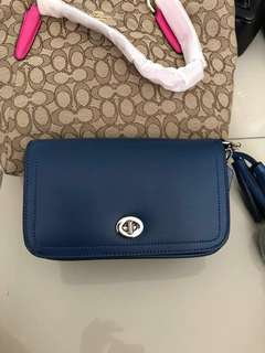 READY STOCK AUTHENTIC WOMEN COACH SLING BAG #ramadan50