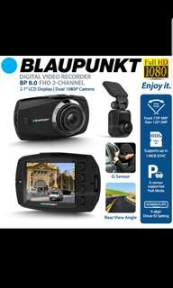 Blaupunkt BP8.0 FHD 1080p car front & rear dash cam DVR digital video recorder