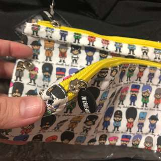 Double zip pouch. Soldier. Army. Brand new