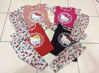 #Hello Kitty shirt#baju baby