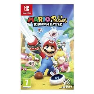 Switch Mario + Rabbids: Kingdom Battle