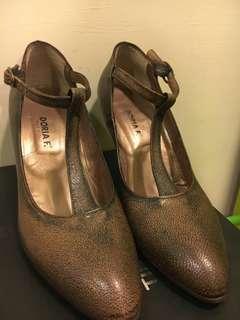 🚚 🔥籌旅費大降價🔥義大利製木底高跟鞋