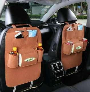 Car seat organizer tas di jok mobil