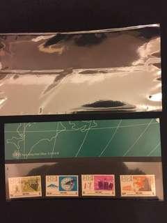 (賤賣)香港天文台百周年紀念郵折