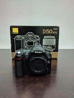 Nikon D50 DSLR body only