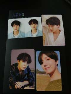 BTS love yourself tear album with pc