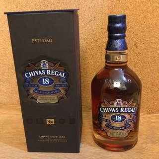 Chivas Regal 18 Gold Signature Scotch Whisky 威士忌