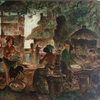 """Lee manfong"" old master bali life"