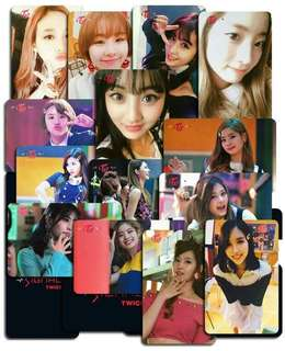 Twice SIGNAL broadcast photocard (unofficial)