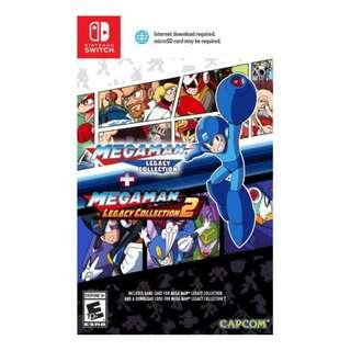 Switch Mega Man Legacy Collection + Mega Man Legacy Collection 2