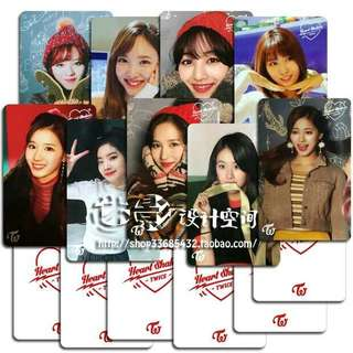 Twice HEART SHAKER broadcast photocard (unofficial)