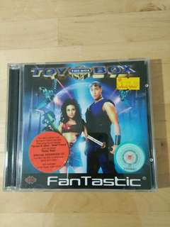 Original Fantastic Toy Box Group Music, Video and Games CD