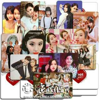 Twice WHAT IS LOVE broadcast photocard (unofficial)
