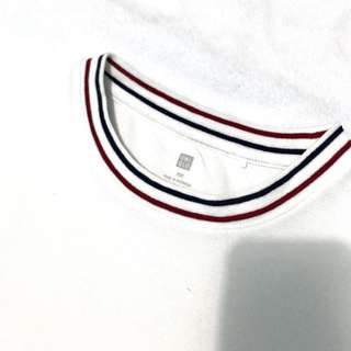 White Uniqlo Top
