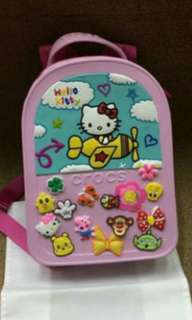 Bag for kids, crocs, cute bag