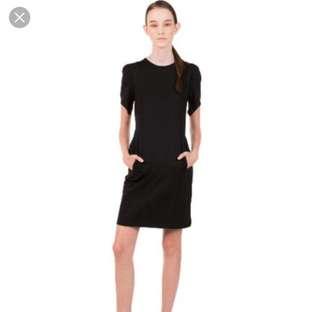 black formal prom dress