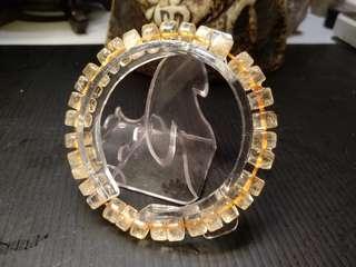 🚚 #26 天然黃水晶手鏈(狩獵偏財的水晶)重22公克 偏財價只賣$588 讓尼發發發