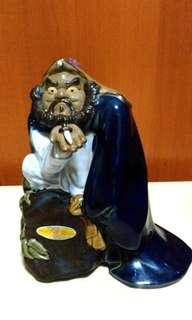 Vintage ShiWan ceramic Ghost Catcher