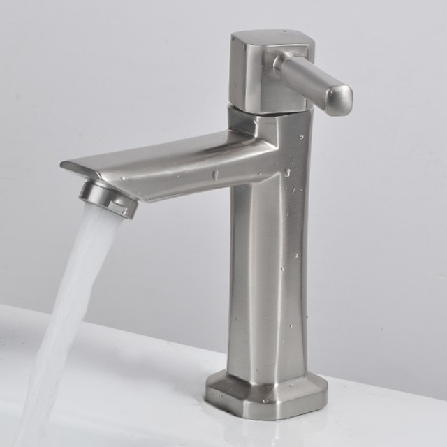 304 Stainless Steel Bathroom Tap (Cold), Home Appliances, Cleaning & Laundry on Carousell