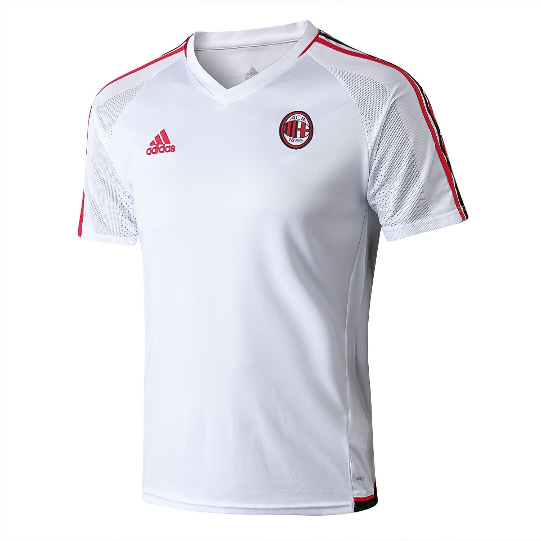 competitive price d5b2d abb99 AC Milan 17-18 Short Sleeve Training Kit