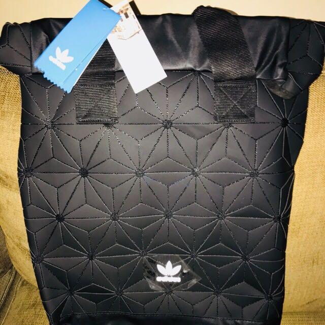 1f661c182b0 Adidas Issey Miyake 3d Rollup Mesh Black Backpack, Luxury, Bags ...