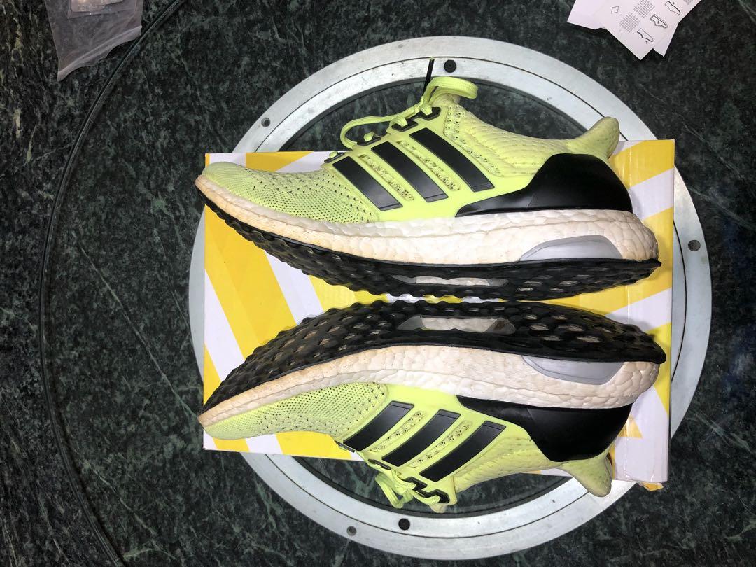 14b87bae6bf99 Adidas Ultra Boost 1.0 Solar Yellow us7 (W) uk5.5