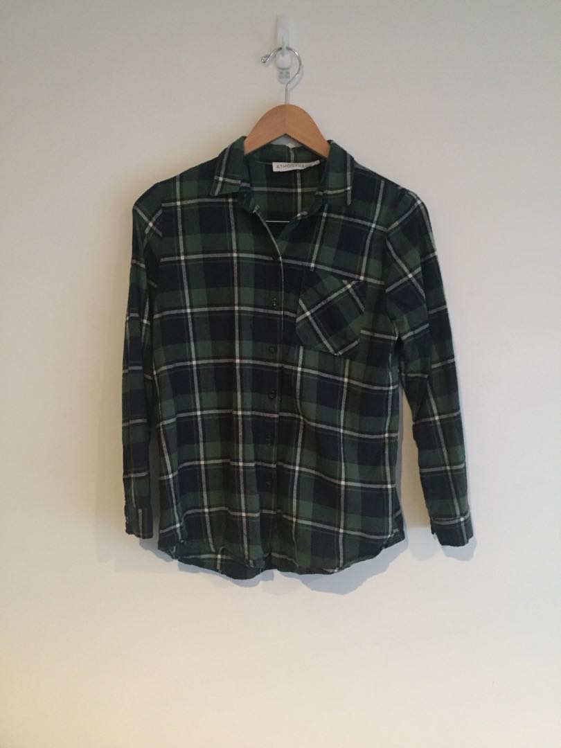 Atmos&here Checked Shirt