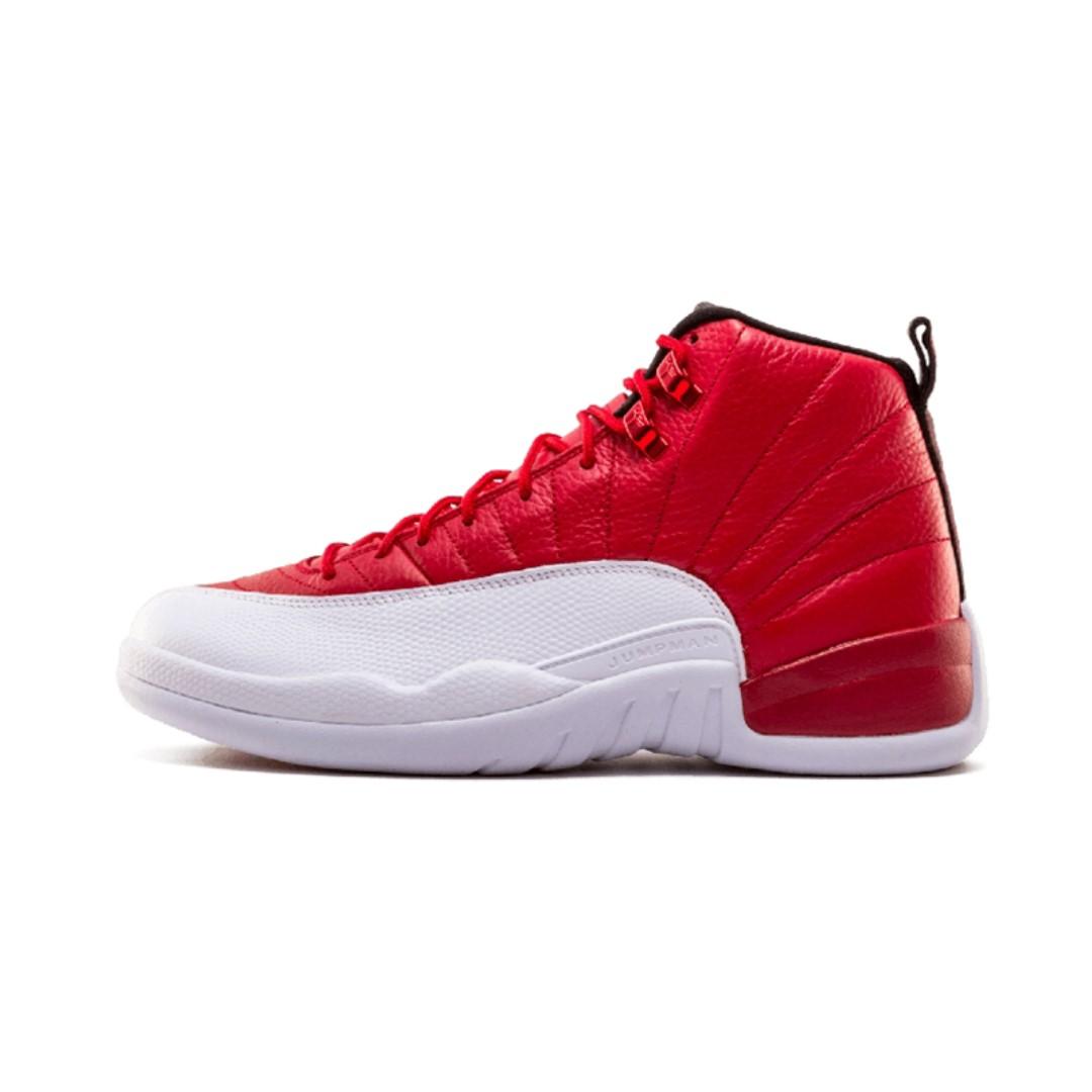 e98566da747f Authentic Jordan 12 XII Men Basketball Shoes GS Barons Flu Game ...