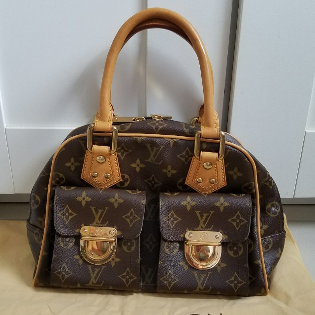e7d4512d4c33 Trade or sale! Authentic preloved Louis Vuitton Manhattan PM