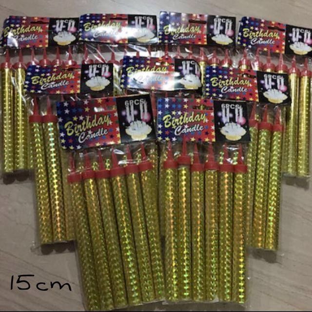 AVAILABLE Birthday Candle Sparklers Everything Else On Carousell