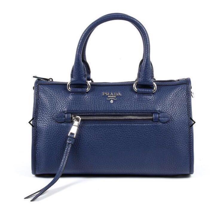 618f38bae261 Brand New in Sealed Wrapping Authentic Prada 1BB022 Vitello Phenix ...