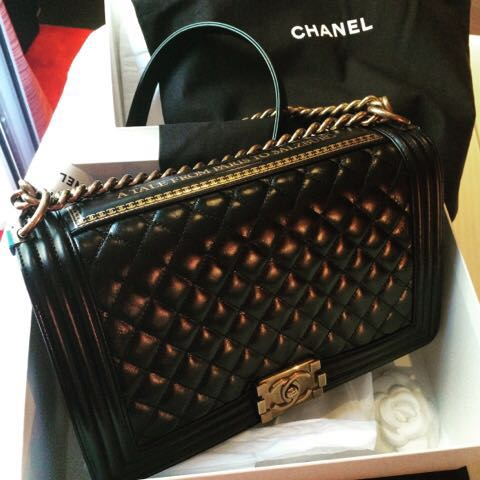 8208a1ca5248be Chanel Boy New Medium Limited Edition Paris to Salzburg, Luxury, Bags &  Wallets, Sling Bags on Carousell