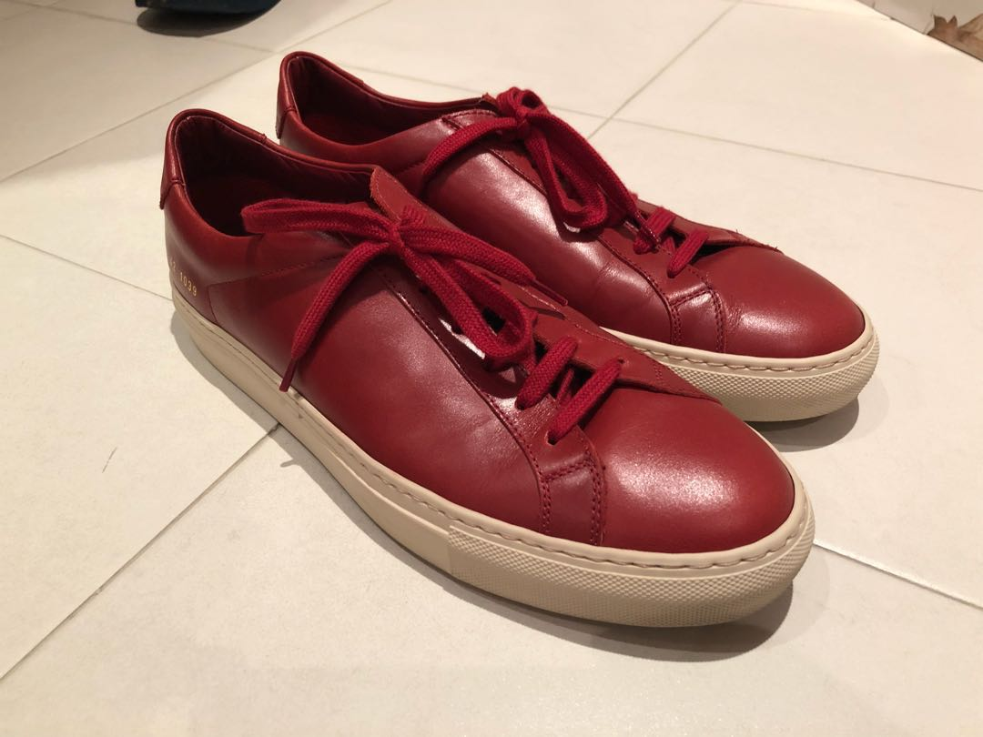 e595561afcfb Common Projects Achilles Leather Sneakers