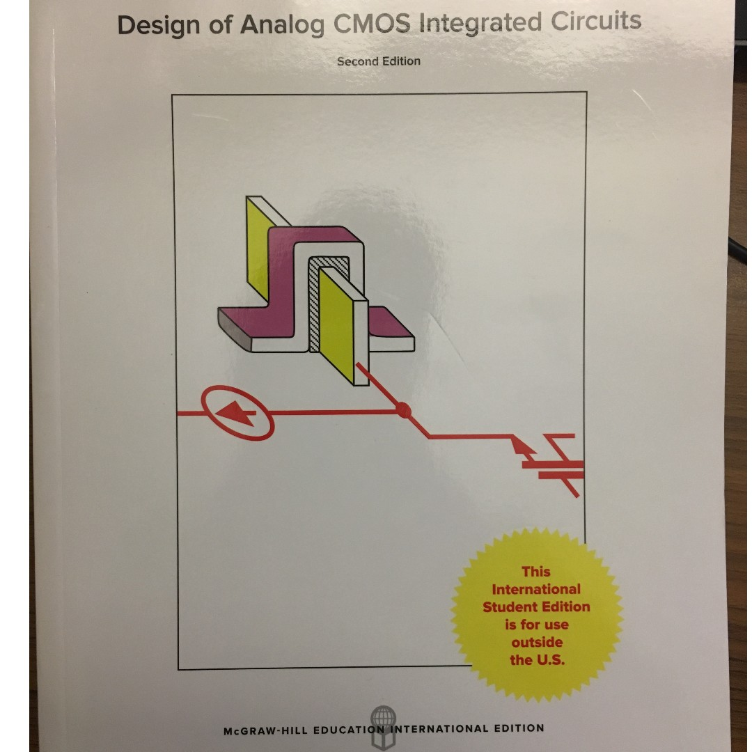 design of analog cmos integrated circuits (2nd edition), booksdesign of analog cmos integrated circuits (2nd edition), books \u0026 stationery, textbooks, professional studies on carousell