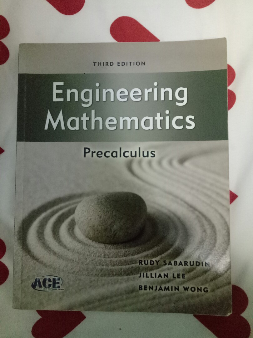 Engineering Math Precalculus Third edition