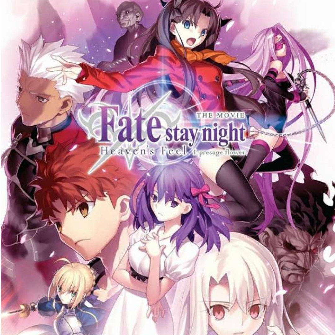 Fate Stay Night Heaven S Feel I Presage Flower Blu Ray Movie Music Media Cds Dvds Other Media On Carousell