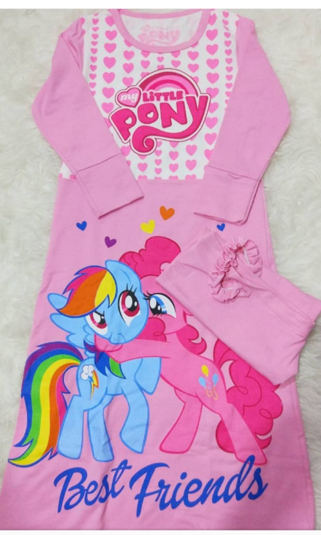 Gamis Anak My Little Pony Babies Kids Girls Apparel On Carousell