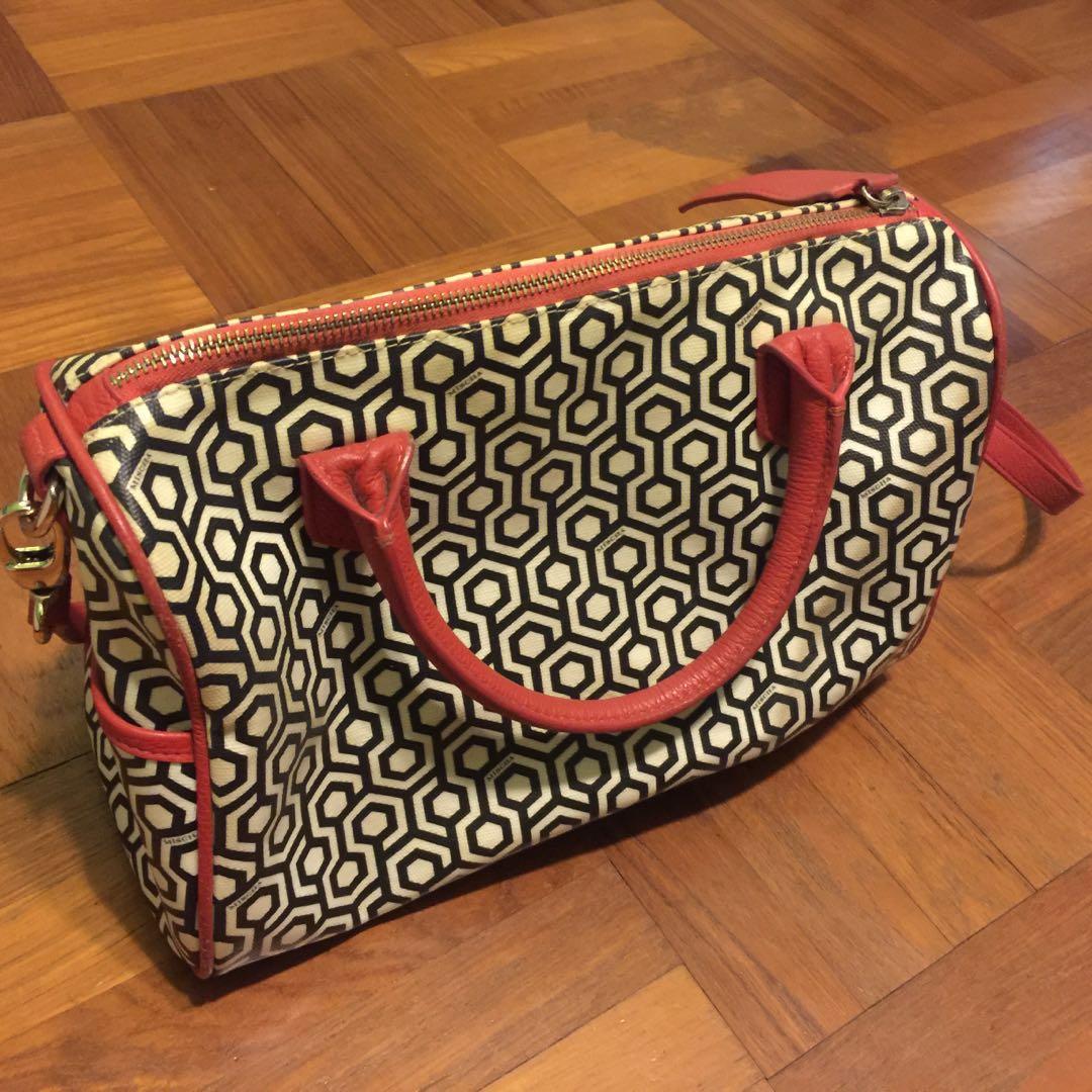 ba933a90529b Genuine canvas Mischa Handbag with Sling - Rarely use anymore ...