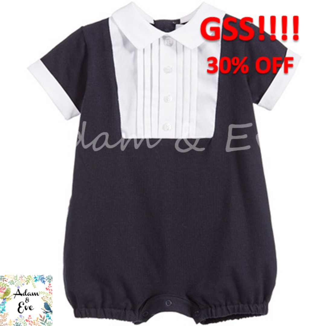 b7c99399c31 GSS Baby Romper B2 – Navy Formal Romper  14.90 (NOW  10)