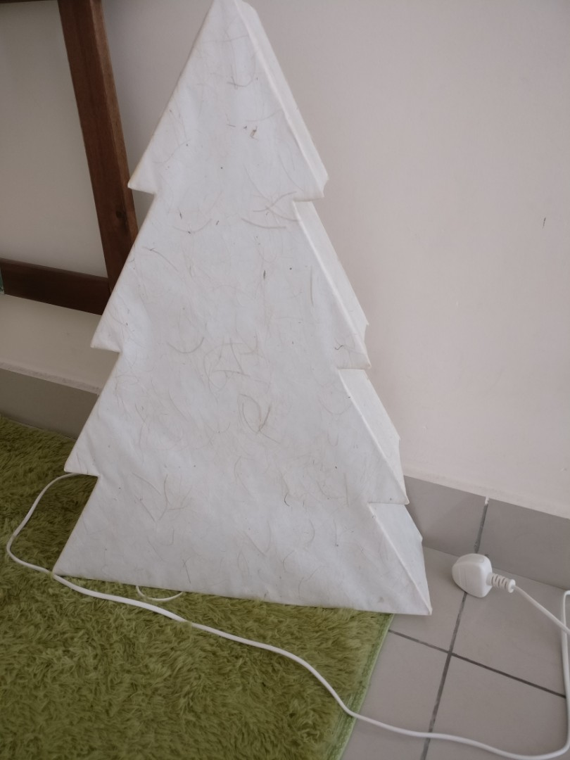 Ikea Christmas tree (light stand), Rumah & Perabot, Home Décor di ...