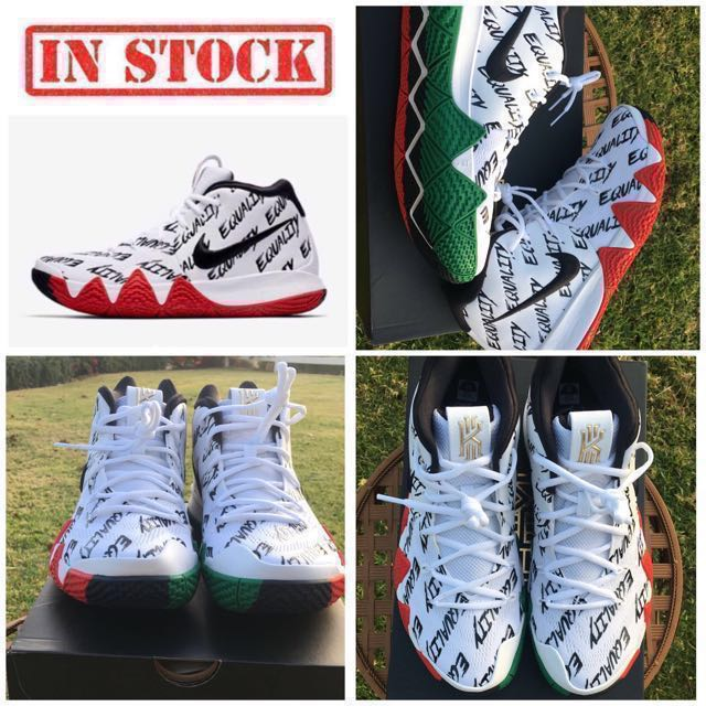 premium selection 13618 f16e9 IN STOCK Men's Nike KYRIE 4 BHM-EQUALITY|COLLECTORS ITEM ...