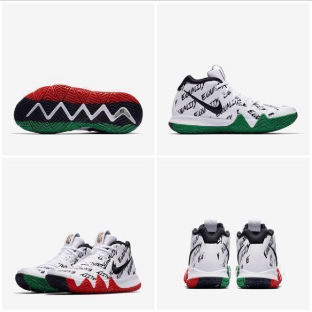 premium selection 02807 1cfc3 IN STOCK Men's Nike KYRIE 4 BHM-EQUALITY|COLLECTORS ITEM ...