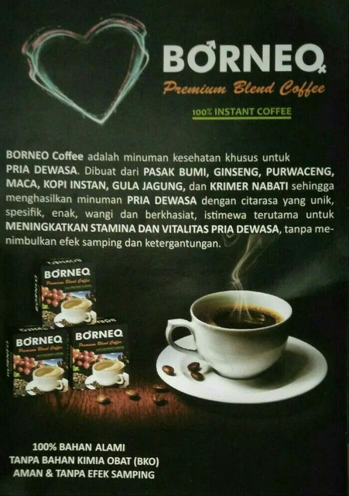 Kopi Borneo Exotica / Premium Asli Untuk Pria Dewasa, Food & Drinks, Non-Alcoholic Beverages on Carousell
