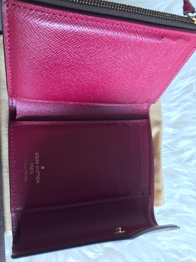 69548af70358 Louis Vuitton (LV) Victorine Wallet (Fuchsia interior)