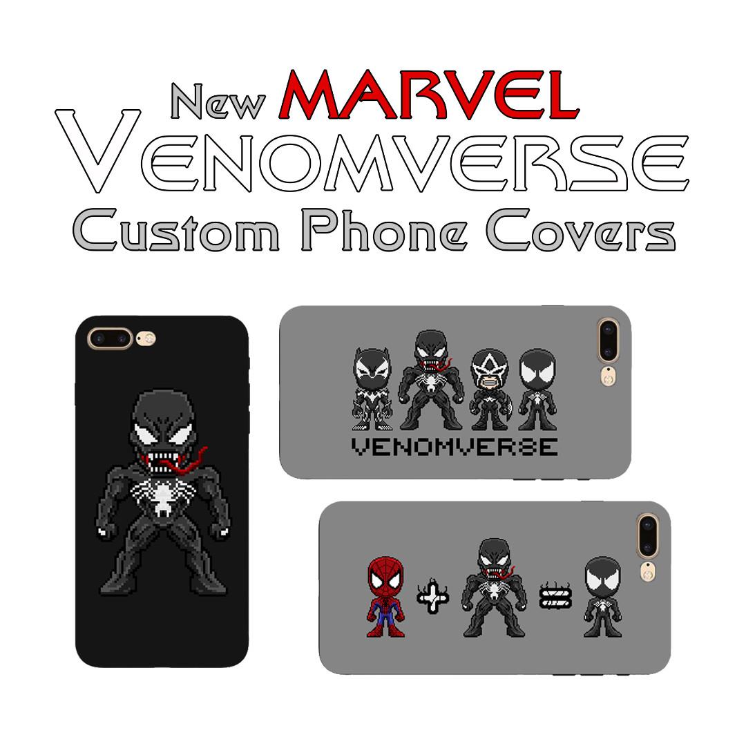 Marvel Venomverse Pixel Art Phone Covers Mobile Phones