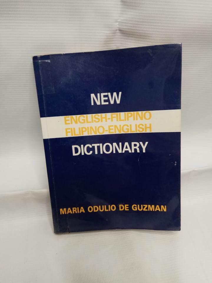 New English/Filipino, Filipino/English Dictionary