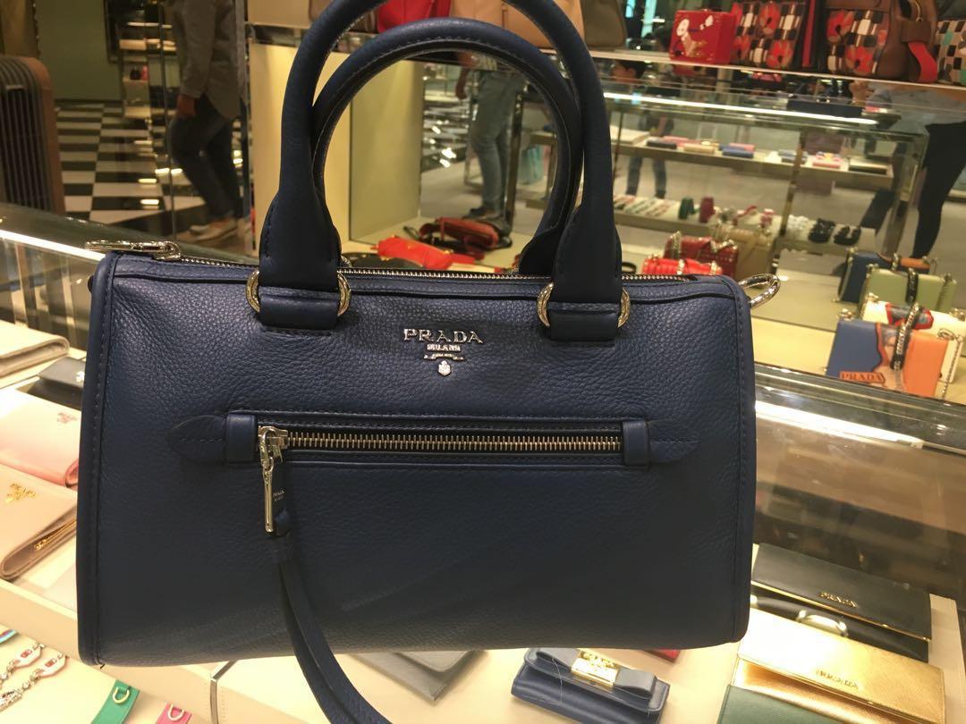 2aa60575f1 Newly bought! Wrap-Sealed Authentic Prada 1BB022 Vitello Phenix ...