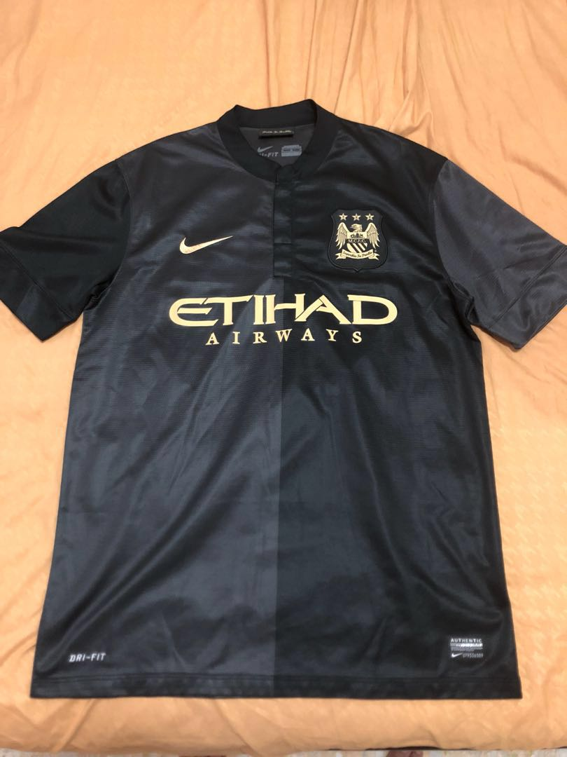 corrotto Semicerchio posta  Nike Manchester City 13/14 away kit not Adidas supreme LV off white Gucci  Levi's seiko Casio tag citizen, Sports, Sports Apparel on Carousell